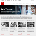 CDW web content - digital workspace