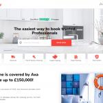 Cleanzy website homepage