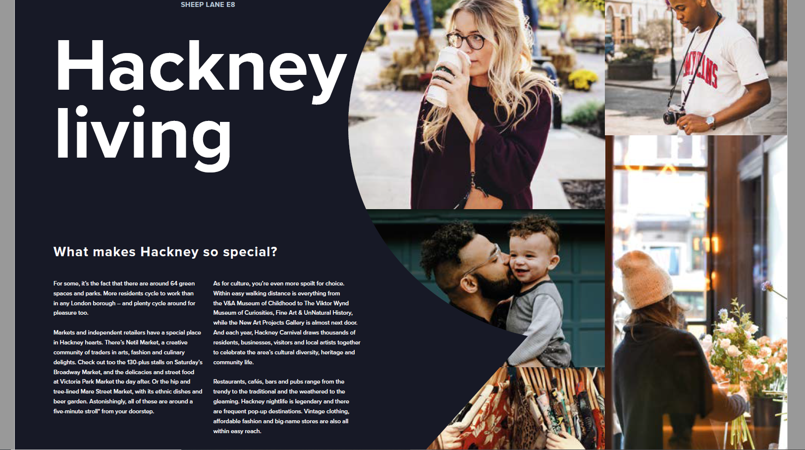 Hackney Sheep Lane - shared living brochure
