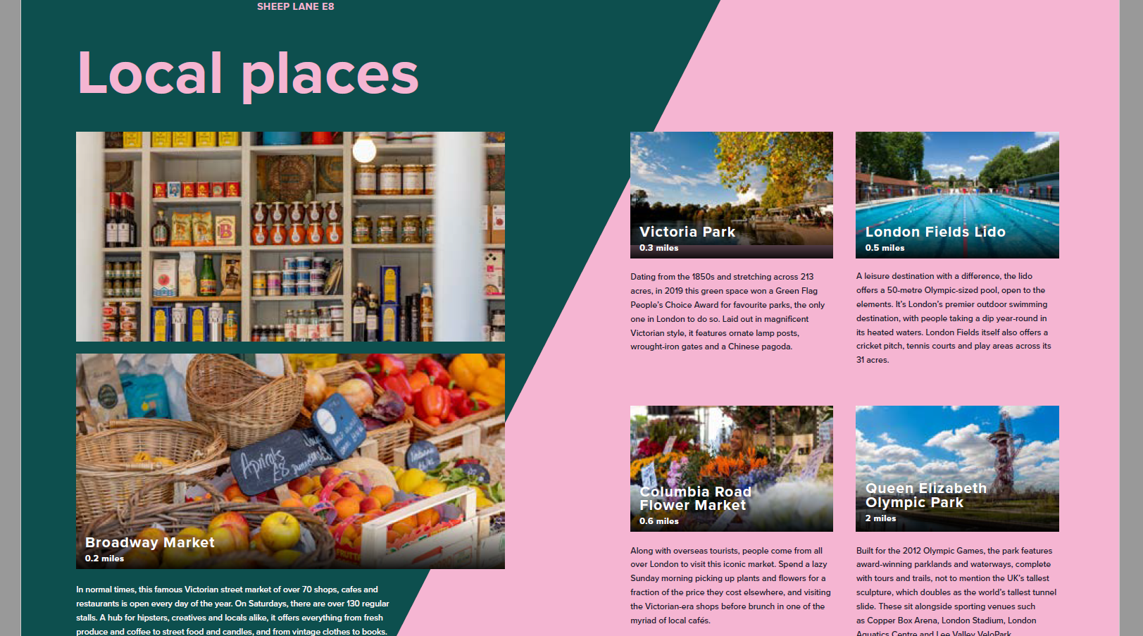 Hackney Sheep Lane - shared living brochure