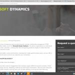 Dynamics web copy